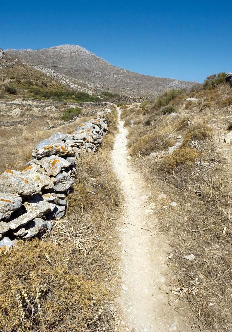Monopati auf Sifnos -  - Pfade - paths