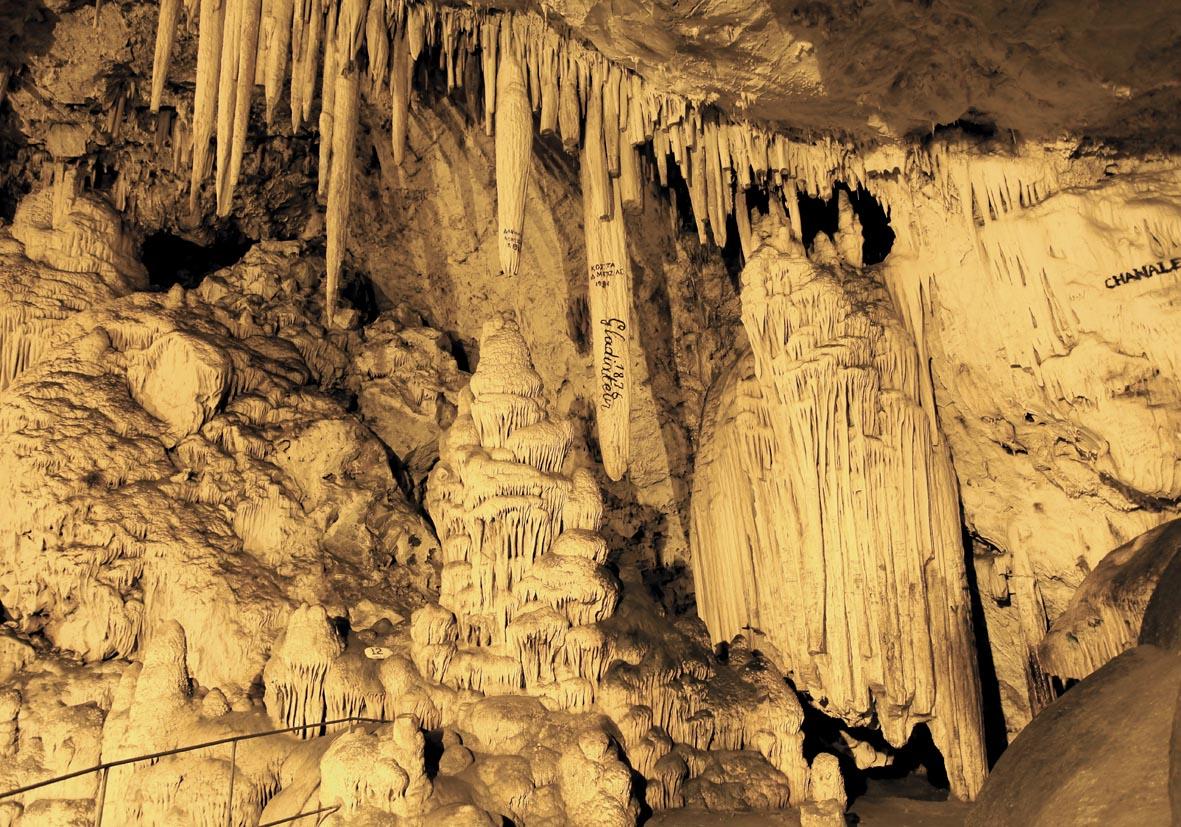 Antiparos - Tropfsteinhöhle -  - Paros-Antiparos