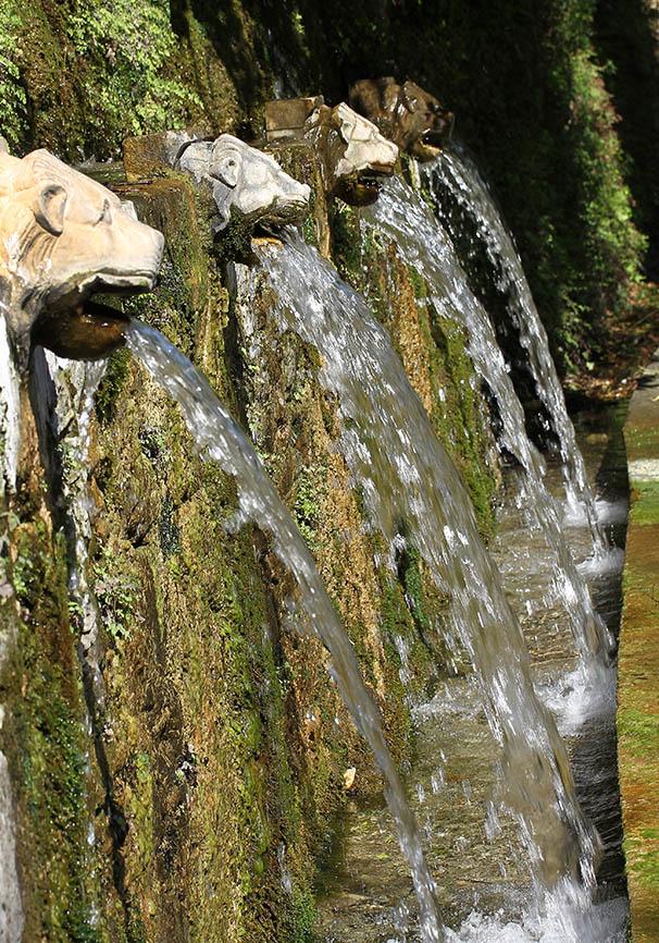 Andros- Löwenbrunnen -  - Andros