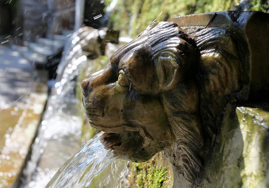Andros - Menites - Löwenbrunnen -  - Andros