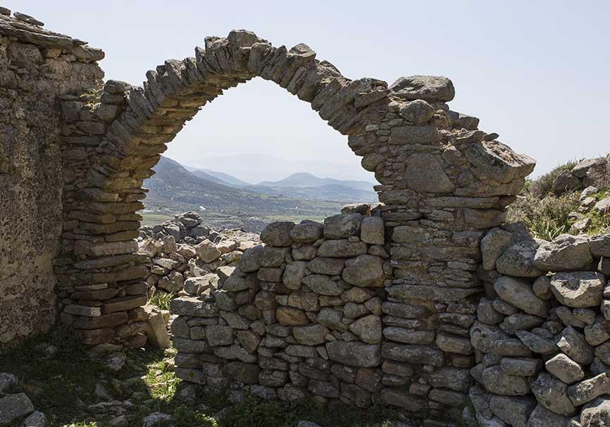 Apano Kastro -  - Naxos