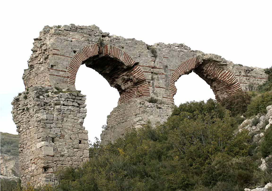 Aquädukt Pythagorio -  - Samos