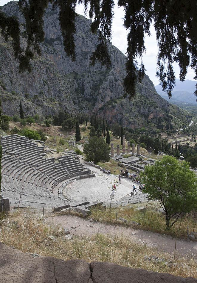 Delfi - Amphitheater -  - Delfi