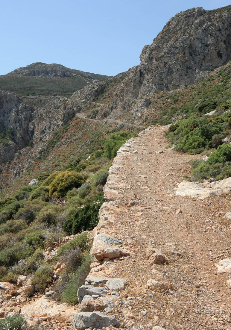 Kalderimi (Tilos) -  - Pfade - paths