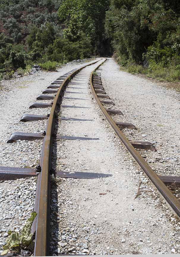 Eisenbahn -Pilion -  - Pilion
