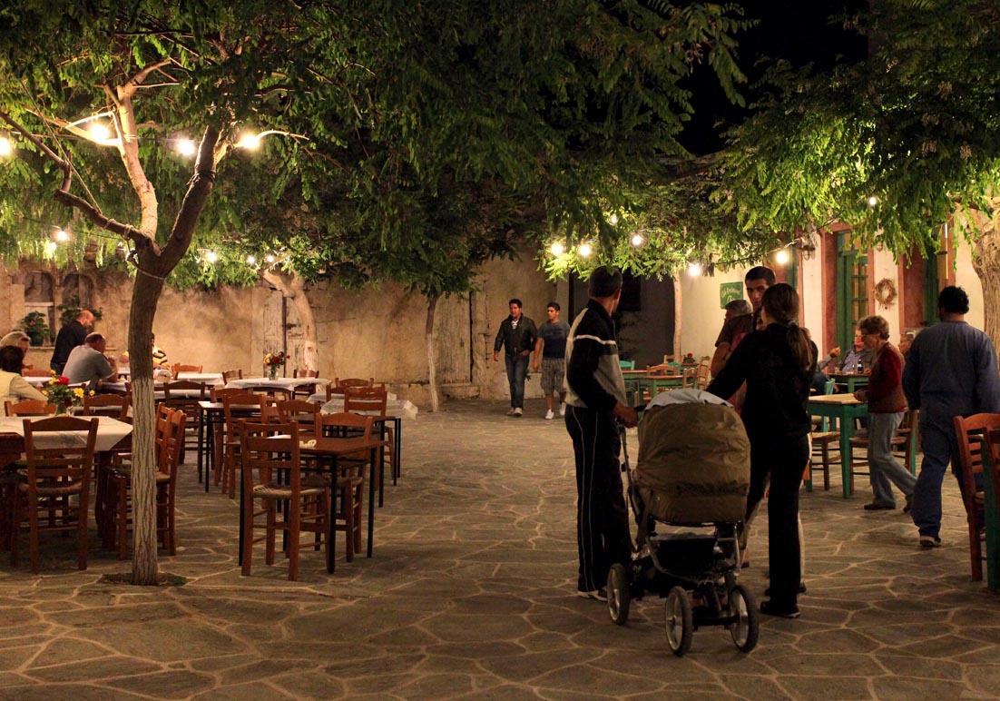Folegandros - Chora in der Osterwoche -  - Folegandros
