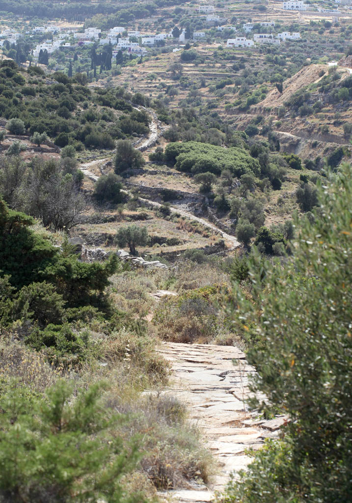 Paros - Byzantinische Straße -  - Paros-Antiparos