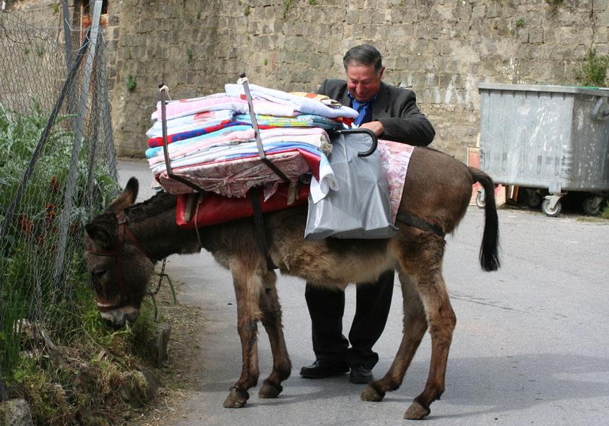 Korfu - Straßenhändler -  - Corfu - Kerkyra