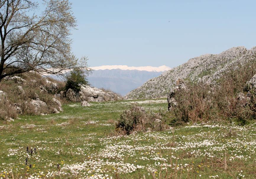 Korfu - Pantokrator  - Blick nach Albanien -  - Corfu - Kerkyra