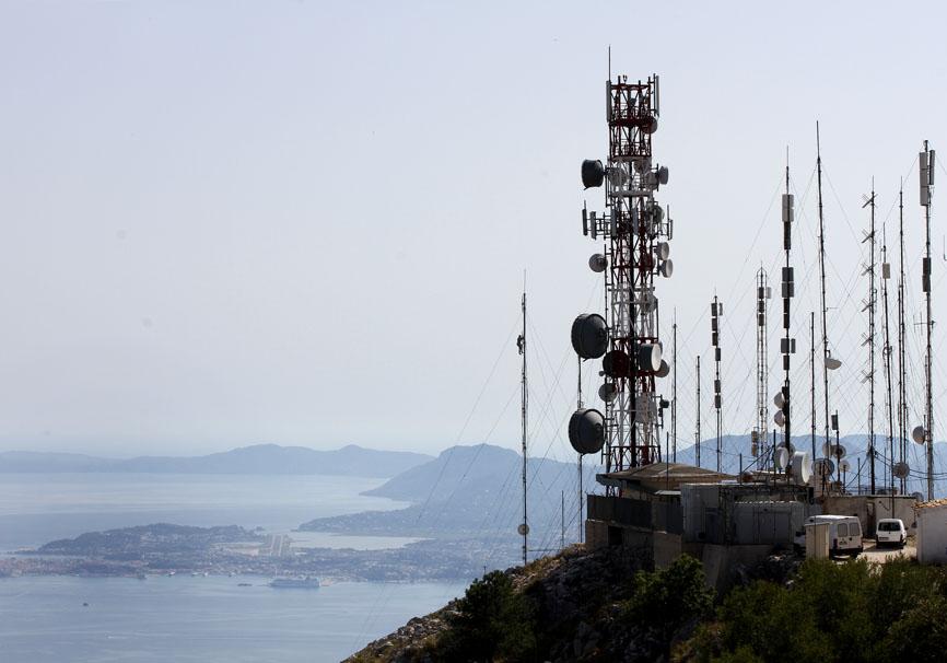 Korfu - Pantokrator Blick auf Korfu-Stadt -  - Corfu - Kerkyra