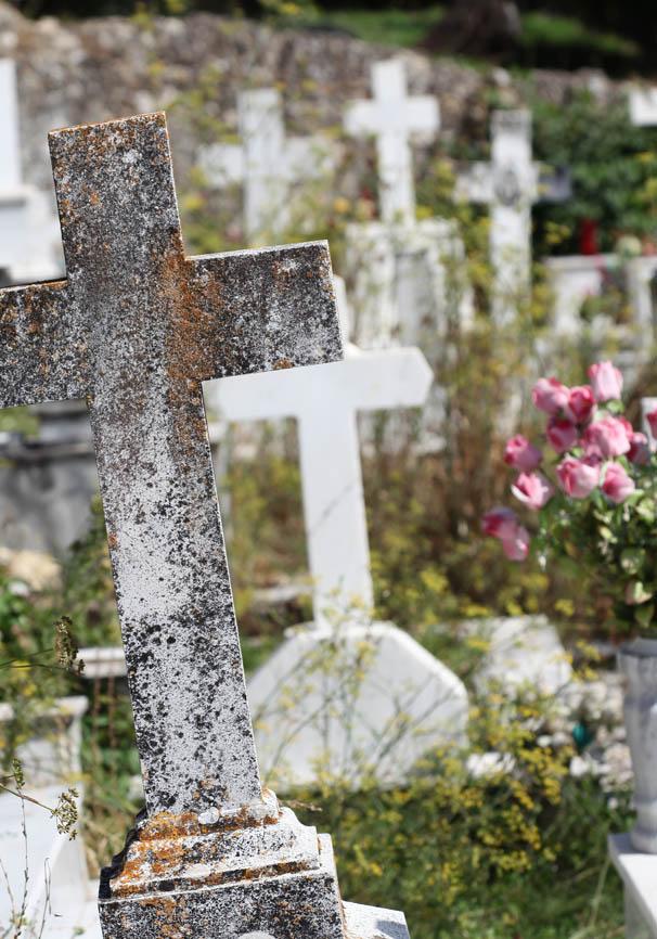 Korfu - Strongili -  - Griechische Friedhöfe - Greec cemeteries