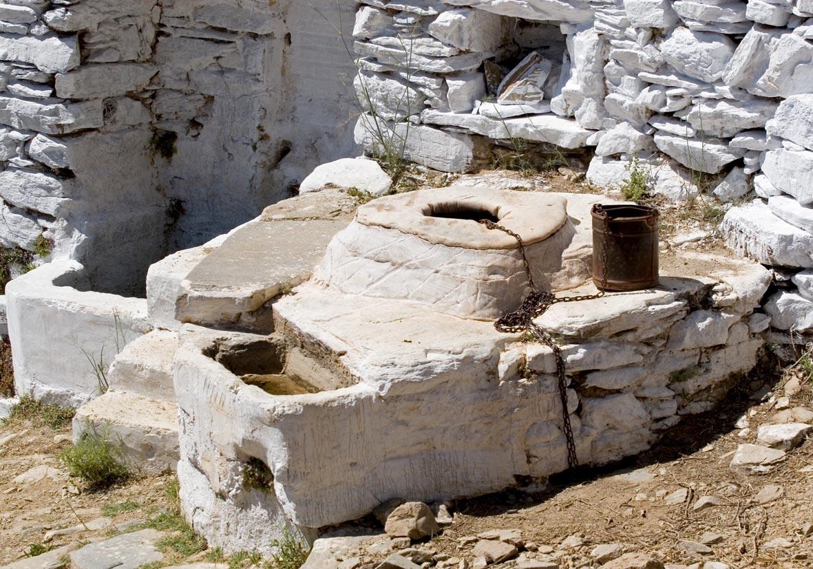 Amorgos  - Quelle - Ursprüngliche Landwirtschaft - pristine landscape