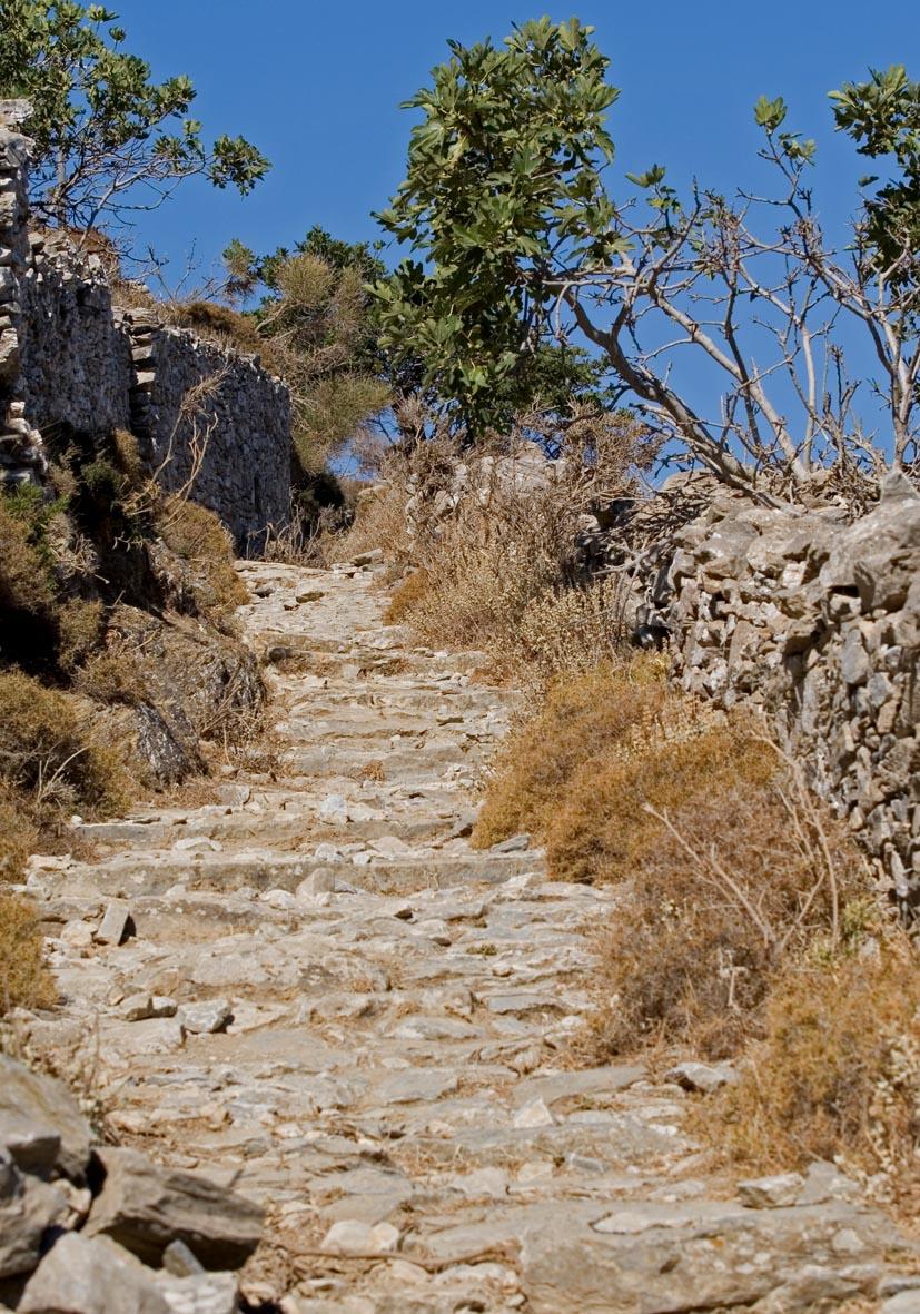 Kalderimi (Amorgos) -  - Pfade - paths