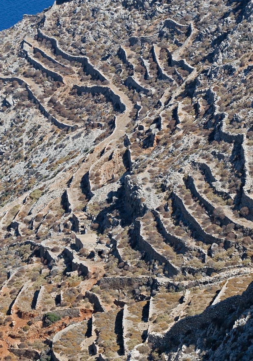 Folegandros -  - Mauern - walls