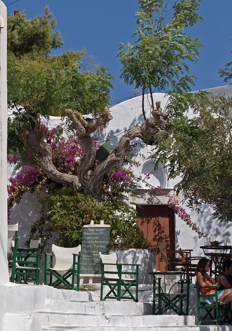 Amorgos (Chora) -  - In den Gassen - along the alleys