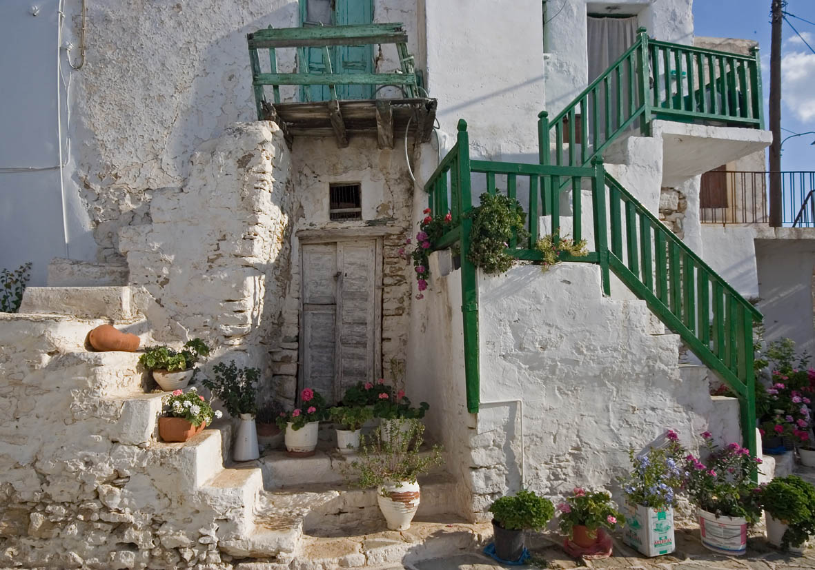 Folegandros -  - In den Gassen - along the alleys