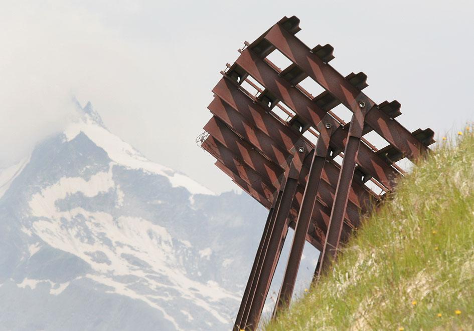 Lawinenverbauung - Osttirol - Technik - technology