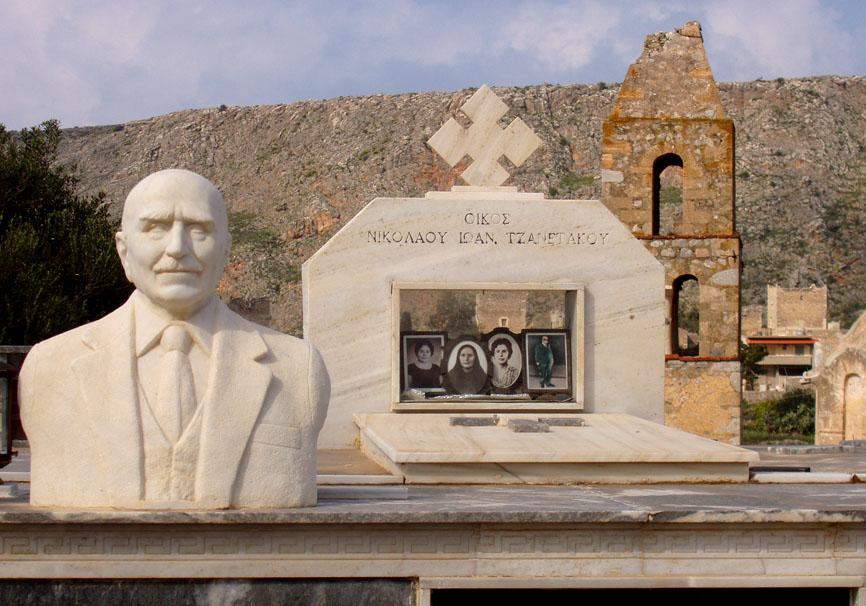 Mani -  - Griechische Friedhöfe - Greec cemeteries