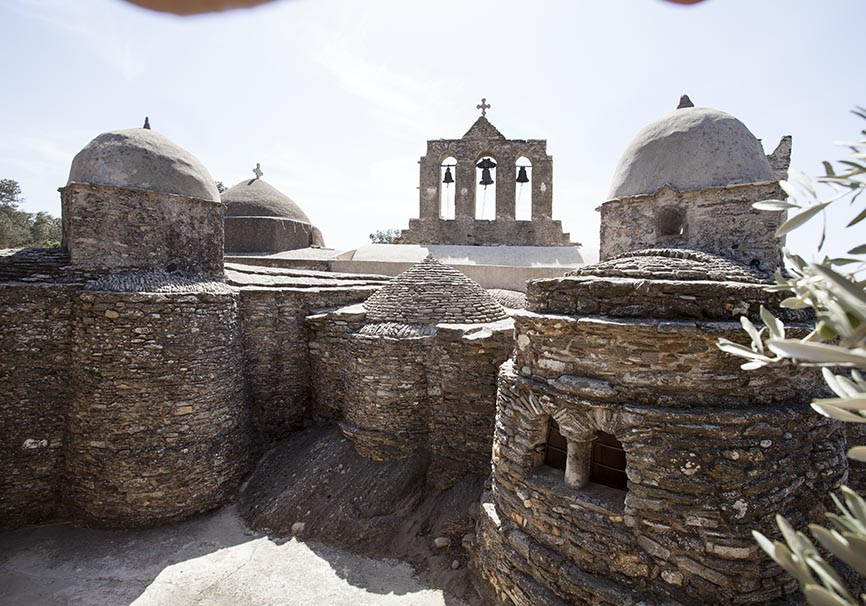Naxos -  Panaghia i Dhrosiani -  - Naxos
