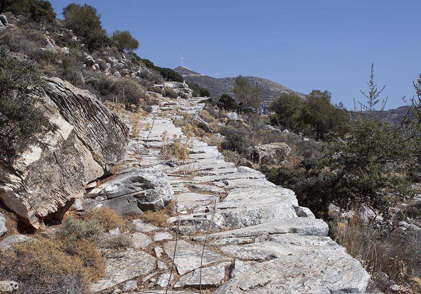 Naxos-Kalderimi nach Ag. Kiriaki -  - Naxos