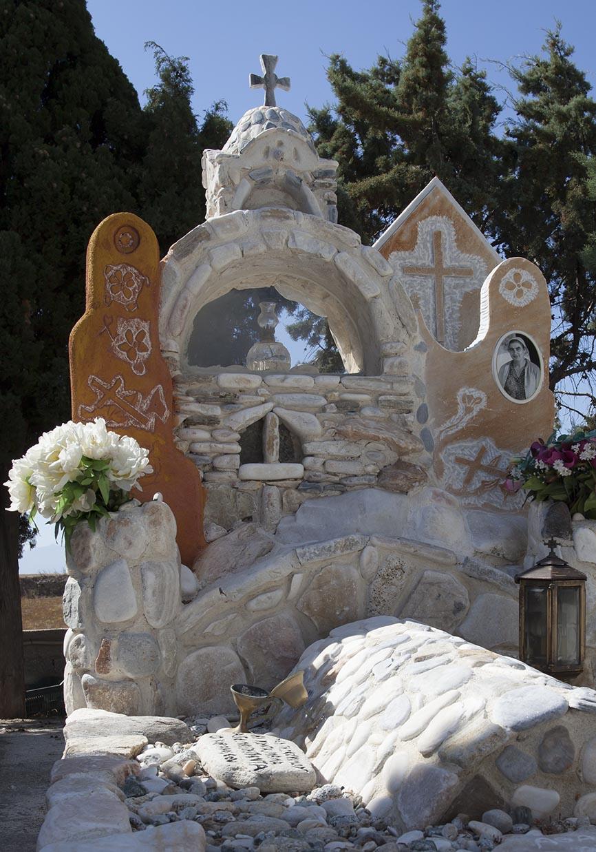 Naxos-Vivlos -  - Griechische Friedhöfe - Greec cemeteries