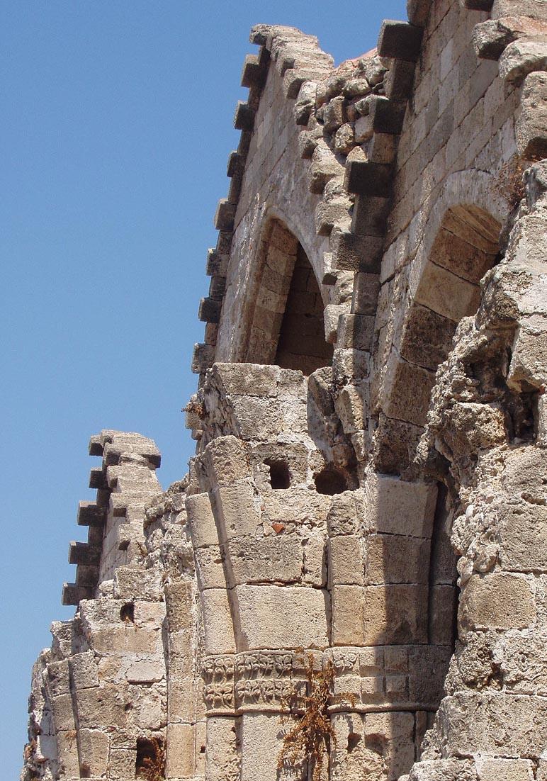 Rhodos-Stadt  -  Marienkirche (14.Jhdt.) -  - Rhodos