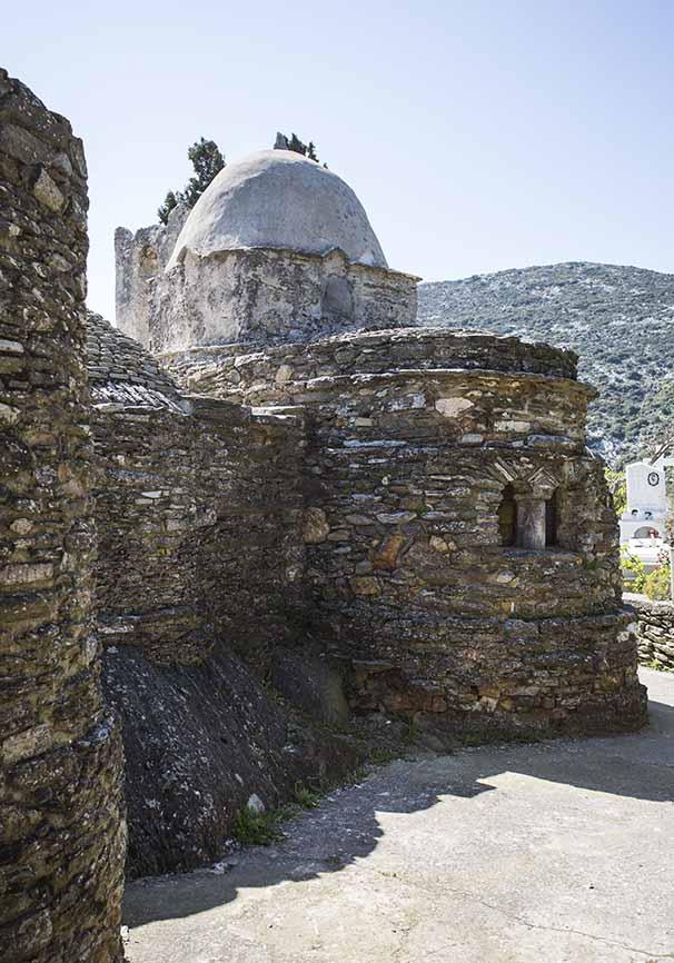 Panaghia i Drosiani Naxos -  - Naxos