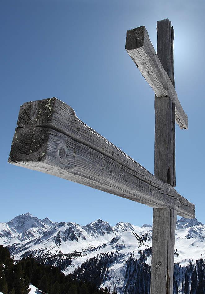 Patriarchenkreuz - Feldringer Böden - Winter