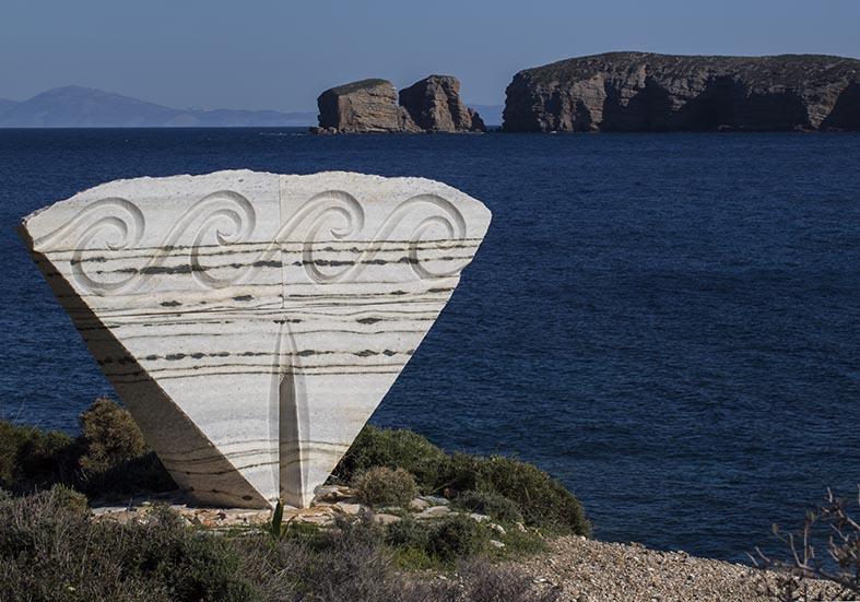 Skulptur Azalas -  - Naxos