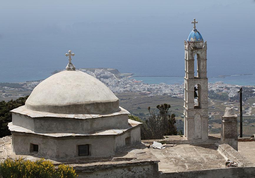 Tinos - Blick auf Tinos-Stadt -  - Tinos