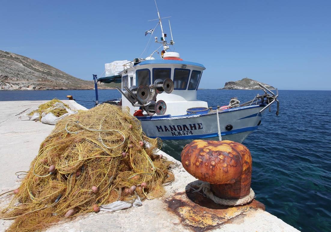 Tinos - Fischer -  - Fischerei - fishery