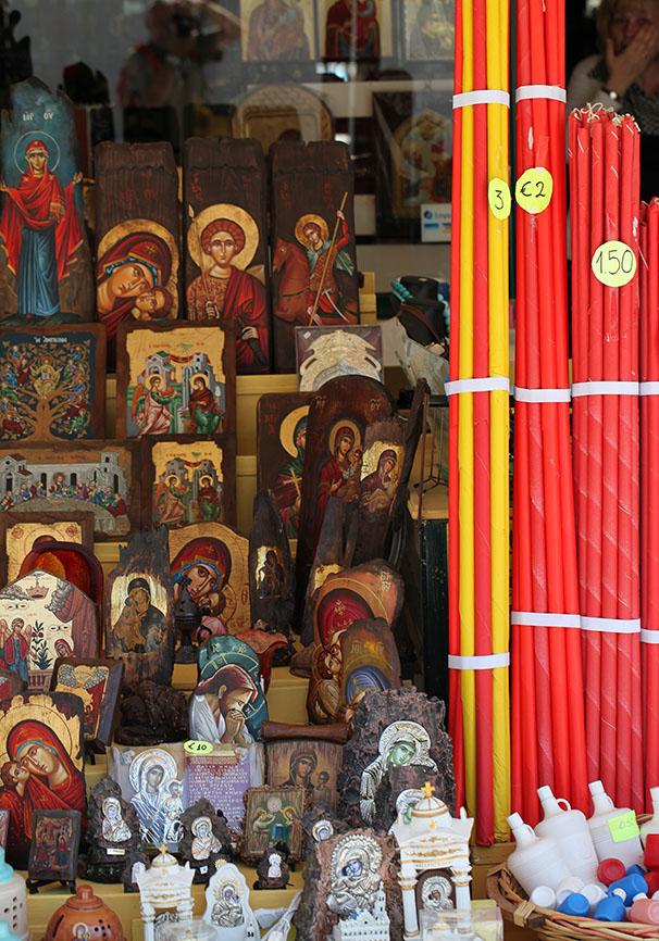Tinos - am Weg zur Panaghia Evangelistria -  - Tinos