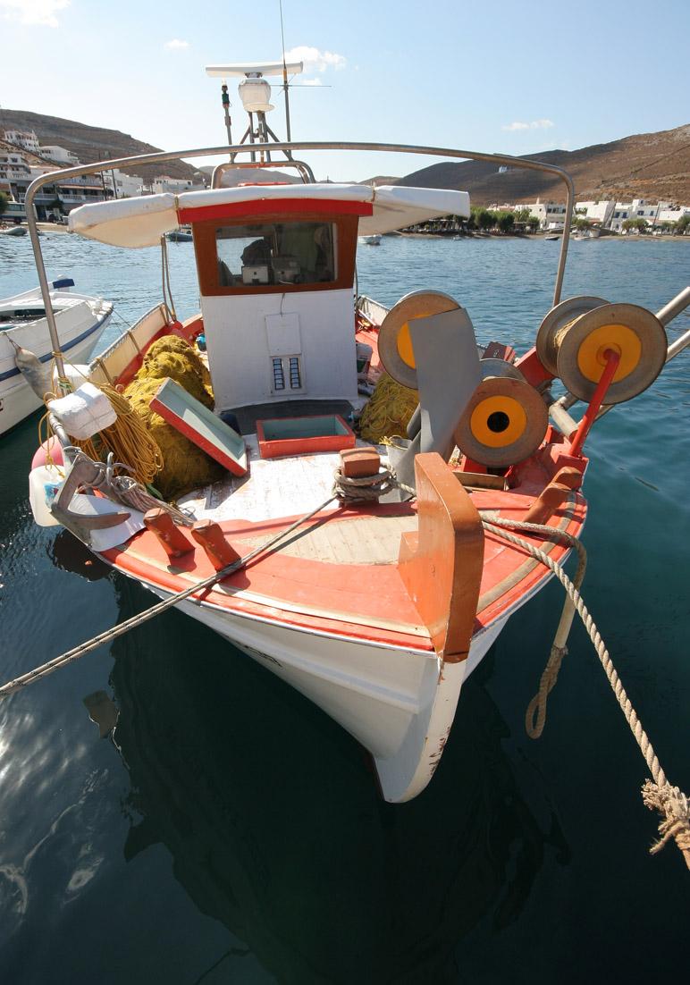 Fischerboot -  - Hafen - port