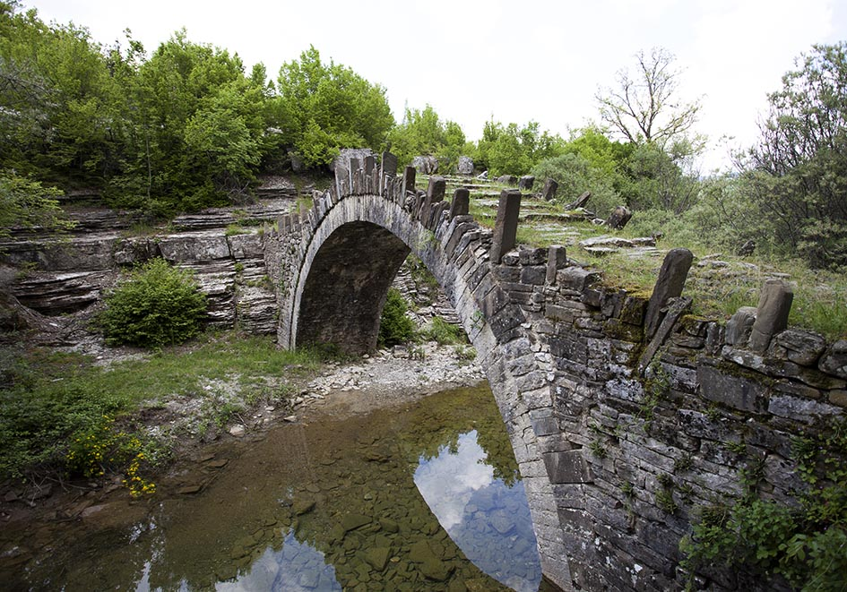 Zagori - Kapetan Arkoida bridge -  - Northern Pindus - Zagori