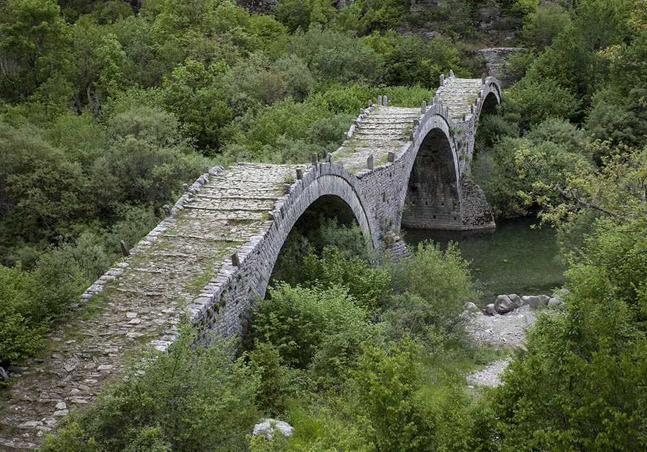 Zagori - Plakidas bridge -  - Northern Pindus - Zagori
