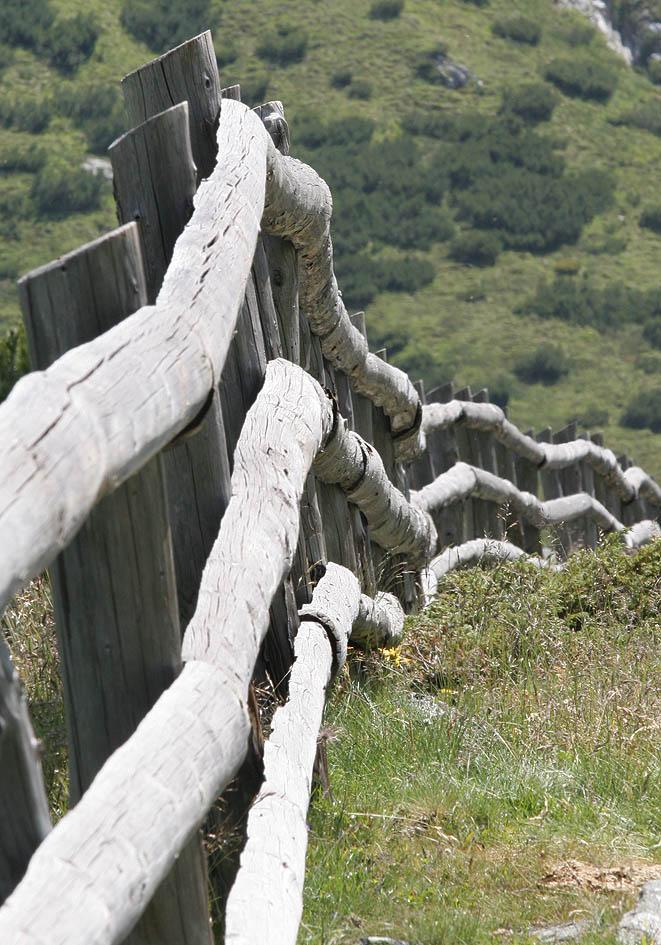 Holzzaun - Osttirol - Zäune - fences