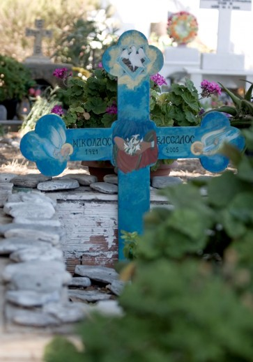 amorgos - Langada -  - Griechische Friedhöfe - Greec cemeteries