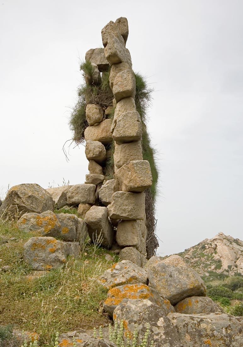 Naxos - Vivlos  -  Hellenistischer Wachturm - Naxos