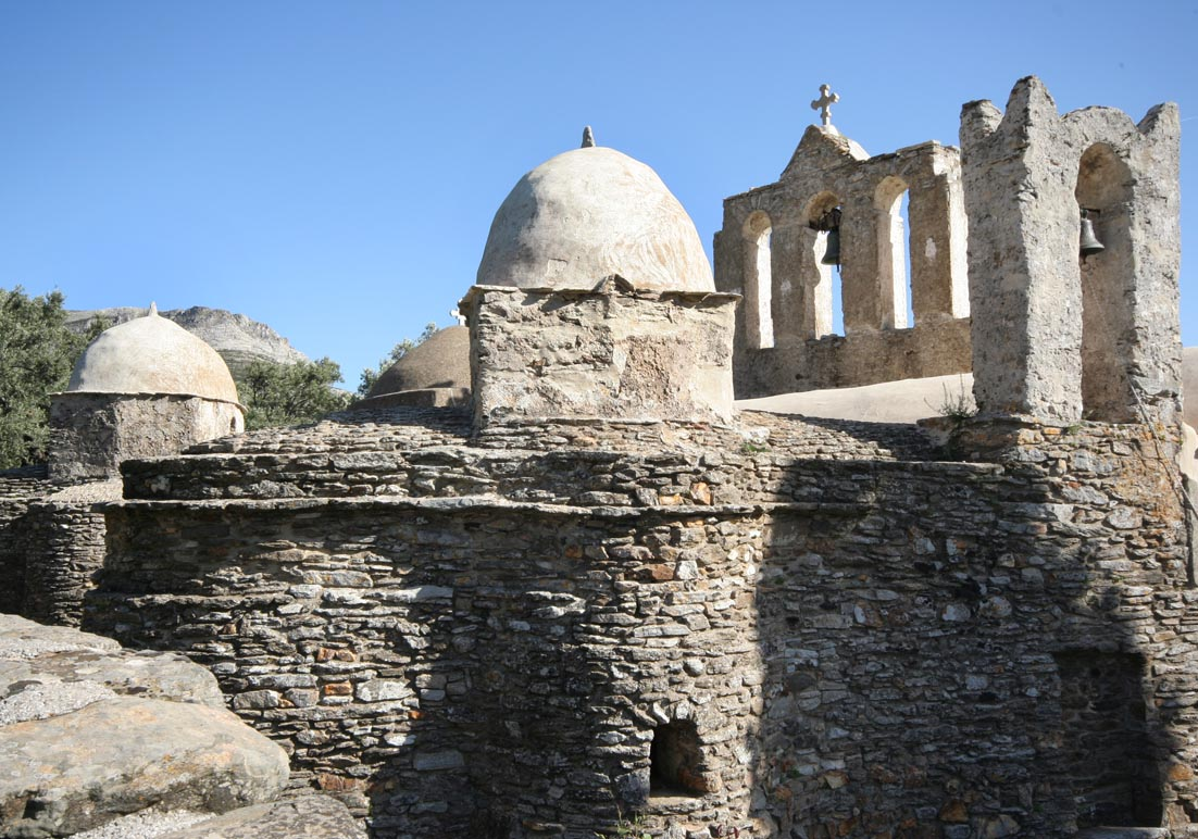 Naxos - Panaghia i Drosiani -  - Naxos