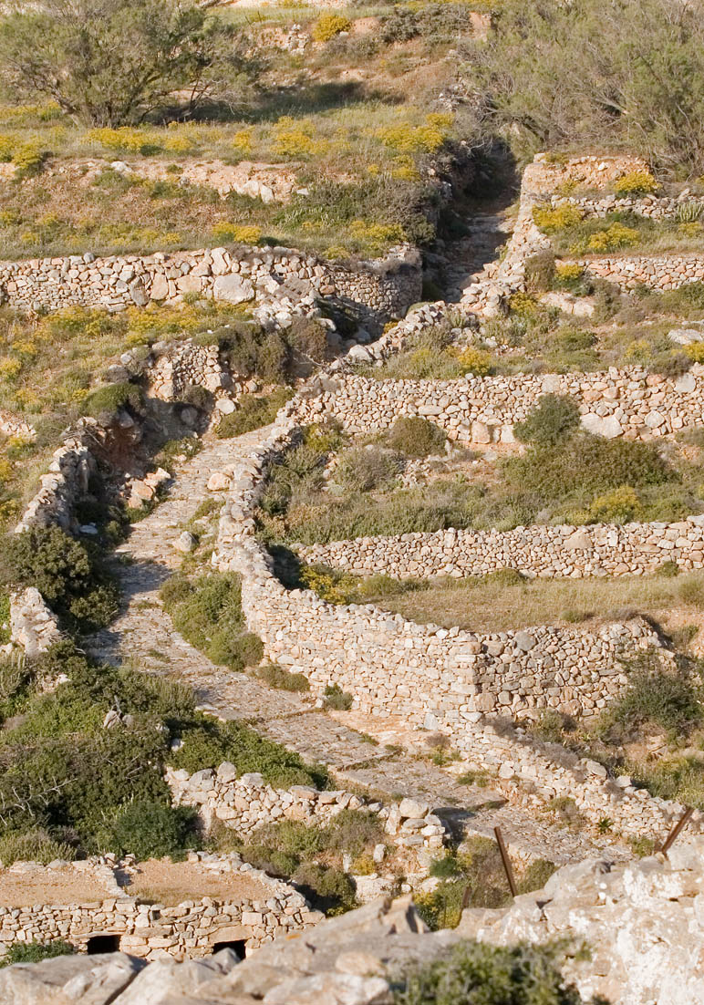 Kalderimi (Folegandros) -  - Pfade - paths