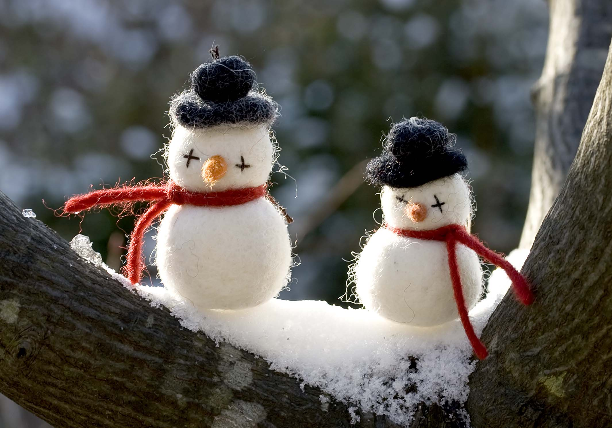Schneemänner -  - Kontaktil