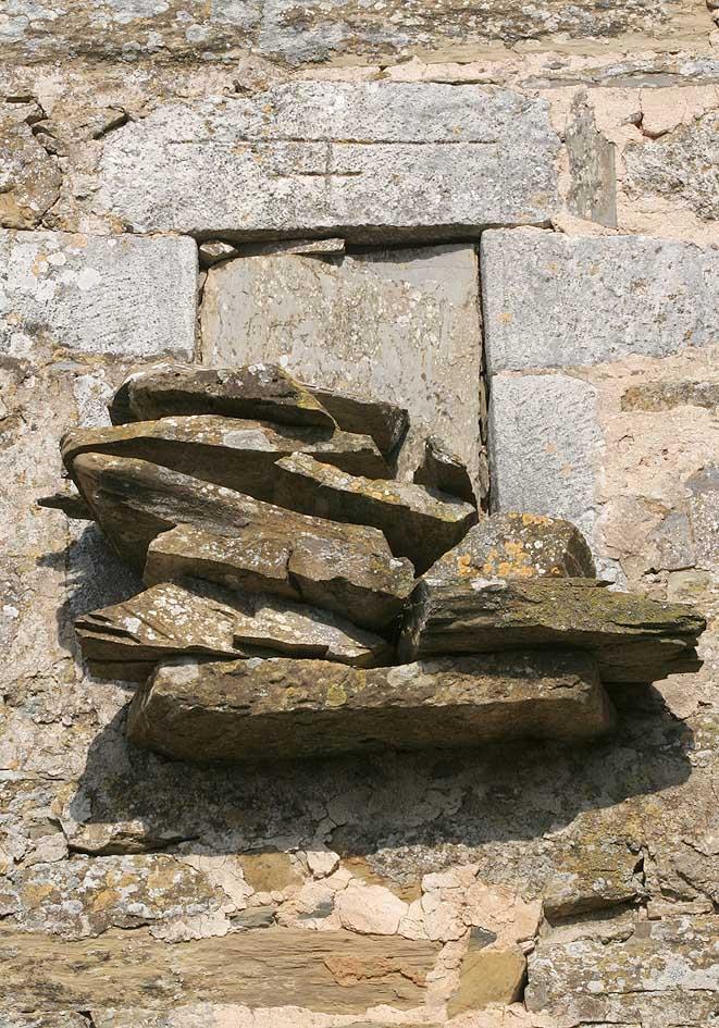 zugemauertes Fenster - Mani (Peloponnes) - Fenster und Türen - doors and windows